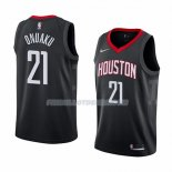 Maillot Houston Rockets Chinanu Onuaku Statement 2018 Noir