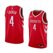 Maillot Houston Rockets P.j. Tucker Icon 2017-18 4 Rouge