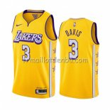 Maillot Los Angeles Lakers Anthony Davis Ville 2019-20 Jaune