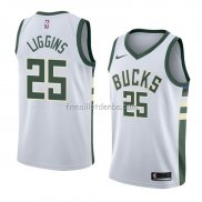 Maillot Milwaukee Bucks Deandre Liggins Association 2018 Blanc