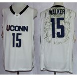 Maillot Basket NCAA Uconn Huskies Walker 15 Blanc