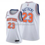 Maillot New York Knicks Wesley Matthews Statement Blanc