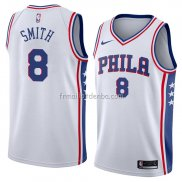 Maillot Philadelphia 76ers Zhaire Smith Association 2018 Blanc