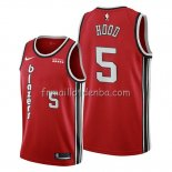 Maillot Portland Trail Blazers Rodney Hood Classic Edition Rouge