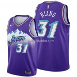 Maillot Utah Jazz Georges Niang Hardwood Classics 2019-20 Volet