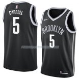 Maillot Brooklyn Nets Demarre Carroll Icon 2018 Noir Noir