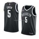 Maillot Brooklyn Nets Mitch Creek Icon 2018 Noiro