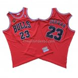 Maillot Chicago Bulls Michael Jordan 1997-98 Finals Rouge