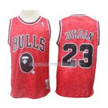Maillot Chicago Bulls Michael Jordan Mitchell & Ness Rouge