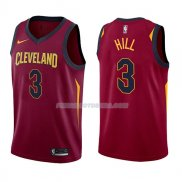 Maillot Cleveland Cavaliers George Hill Icon 2017-18 3 Rojo