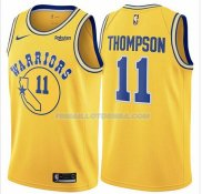 Maillot Golden State Warriors Klay Thompson Hardwood Classic 2018 Jaune