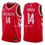 Maillot Houston Rockets Gerald Green Icon 2017-18 14 Rojo