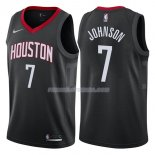 Maillot Houston Rockets Joe Johnson Statehombret 2017-18 7 Negro
