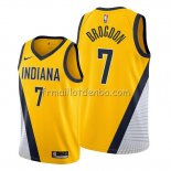 Maillot Indiana Pacers Malcolm Brogdon Statement Edition Jaune