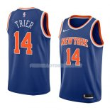 Maillot New York Knicks Allonzo Trier Icon 2018 Bleu Bleu