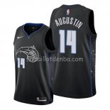 Maillot Orlando Magic D.j. Augustin Ville Edition Noir