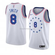 Maillot Philadelphia 76ers Zhaire Smith Earned 2018-19 Blanc