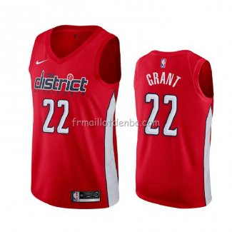 Maillot Washington Wizards Jerian Grant Earned 2020 Rouge