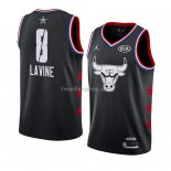 Maillot All Star 2019 Chicago Bulls Zach Lavine Noir