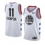 Maillot All Star 2019 Golden State Warriors Klay Thompson Blanc