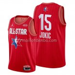Maillot All Star 2020 Denver Nuggets Nikola Jokic Rouge