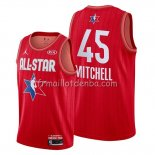 Maillot All Star 2020 Utah Jazz Donovan Mitchell Rouge
