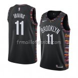 Maillot Brooklyn Nets Kyrie Irving Ciudad 2019-20 Noir