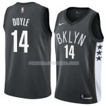 Maillot Brooklyn Nets Milton Doyle Statement 2018 Noir Noir