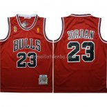 Maillot Chicago Bulls Michael Jordan 1996-97 Finals Rouge
