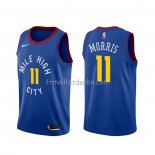 Maillot Denver Nuggets Monte Morris Statement Bleu