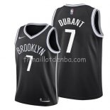 Maillot Enfant Brooklyn Nets Kevin Durant Icon 2019 Noir