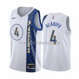Maillot Indiana Pacers Victor Oladipo Ville Blanc