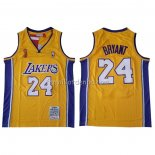 Maillot Los Angeles Lakers Kobe Bryant 2009 Finals Jaune