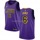Maillot Los Angeles Lakers Lebron James 2019-20 Ville Volet