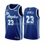 Maillot Los Angeles Lakers Lebron James Classic 2019-20 Bleu