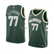 Maillot Milwaukee Bucks Ersan Llyasova Icon 2018 Vert