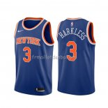 Maillot New York Knicks Maurice Harkless Icon Bleu