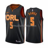 Maillot Orlando Magic Mohamed Bamba Ville Edition Noir2