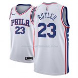 Maillot Philadelphia 76ers Jimmy Butler Association 2018-19 Blanc