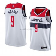 Maillot Washington Wizards Chasson Randle Association 2018 Blanc