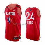 Maillot All Star 2020 Atlanta Hawks Trae Young Authentique Rouge