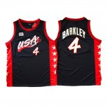 Maillot Basket Basket USA 1996 Barkley 4 Noir