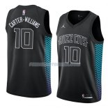 Maillot Charlotte Hornets Michael Carter-williams Ciudad 2018 Noir