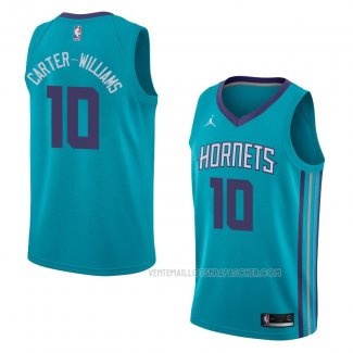 Maillot Charlotte Hornets Michael Carter-williams Icon 2018 Vert