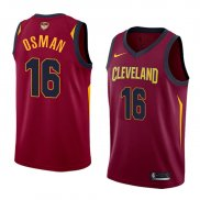 Maillot Cleveland Cavaliers Cedi Osman Finals Bound Icon 2017-18 16 Rouge