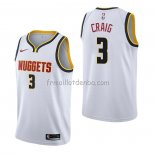 Maillot Denver Nuggets Torrey Craig Association Blanc
