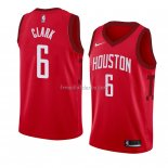 Maillot Houston Rockets Gary Clark Earned 2018-19 Rouge