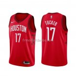 Maillot Houston Rockets P.j. Tucker Statehombret 2017-18 4 Negro