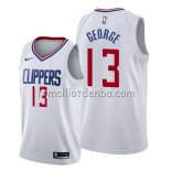 Maillot Los Angeles Clippers Paul George Association 2019 Blanc