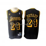 Maillot Los Angeles Lakers Kobe Bryant Retro Noir